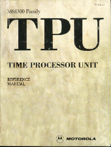 TPU Reference Manual Cover